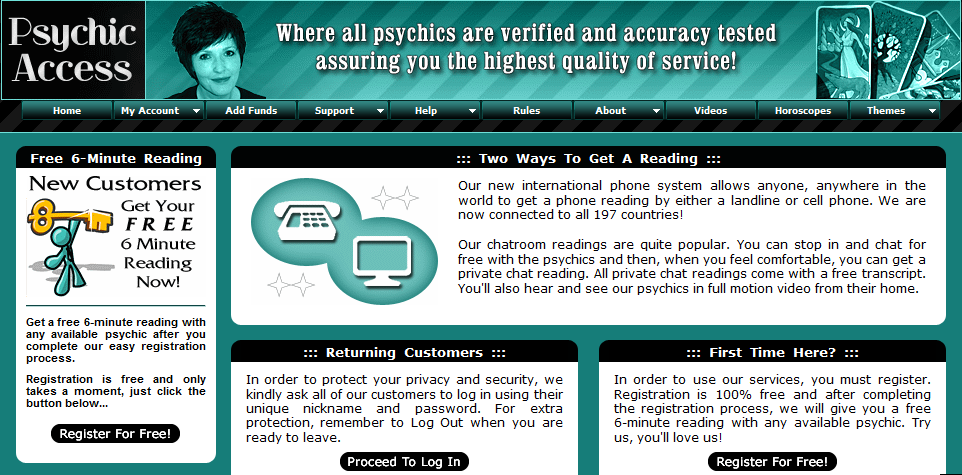 free psychic reading minutes