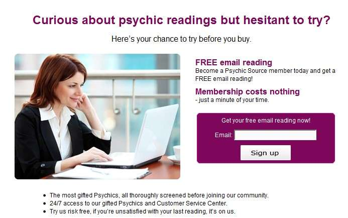 free psychic readings no credit card