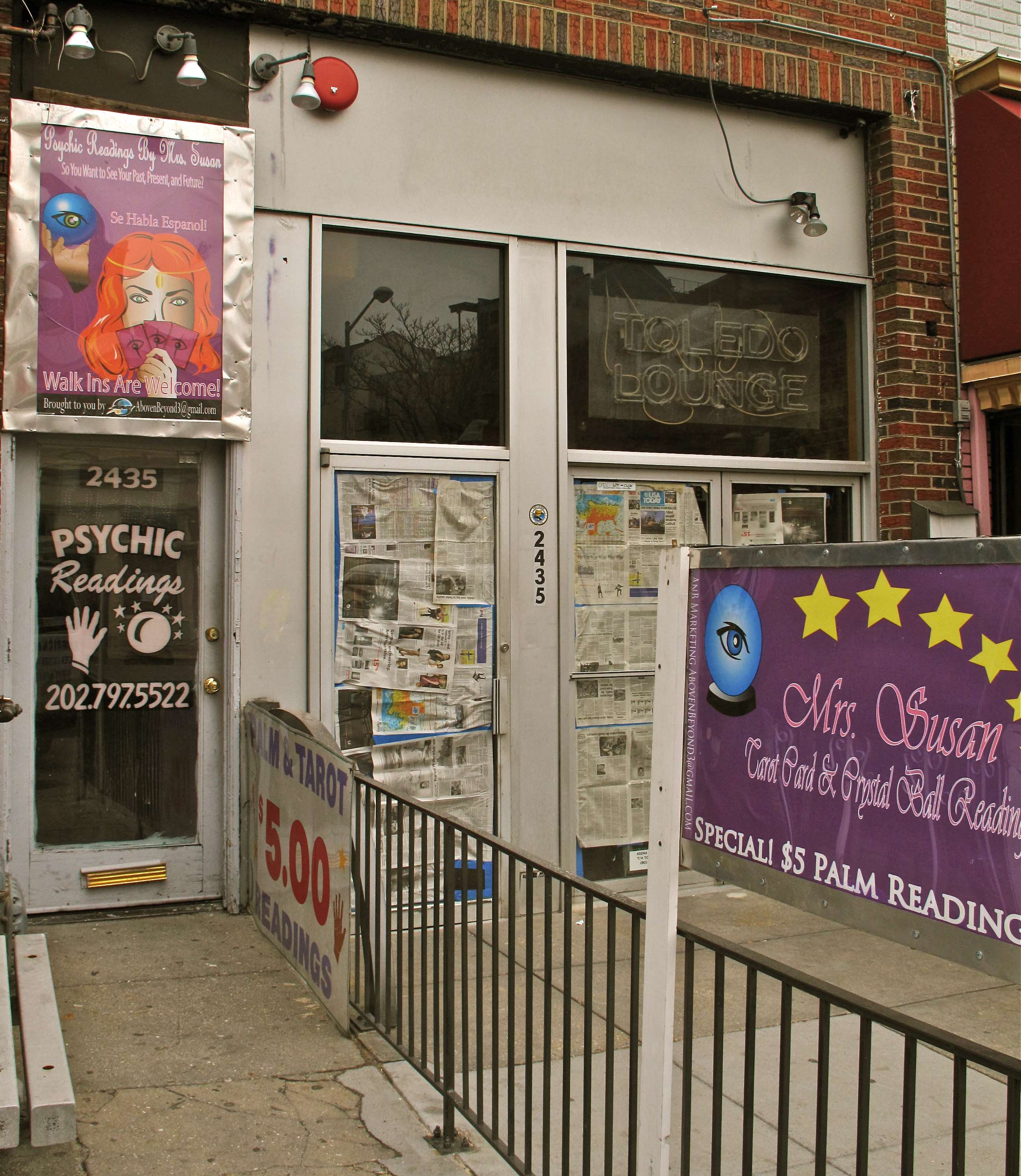 psychic reading washington dc